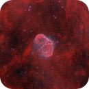 Crescent Moon Nebula (NGC6888) in Bortle 9 with an OSC,                                minhlead