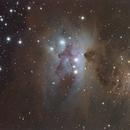 Sharpless in Orion [Sh2-279] - The Running Man Nebula,                                G400