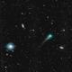Comet C/2017 T2 (PANSTARRS) between M109 and NGC 3953,                                dswtan