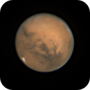 """Mars on 20th October with 10"""" F5 self-made Newtonian,                                Stephan Linhart"""