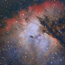 Pacman Nebula in HOO,                                Wes Higgins