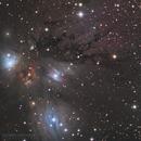 NGC 2170 & NGC 2182,                                Dennis Sprinkle