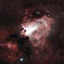 M17 Omega Nebula in HOO,                                Ryan Kinnett