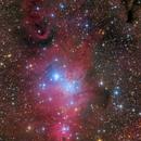 Cone nebula complex (NGC 2264) from Monoceros,                                Rafael Schmall