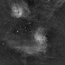 IC 405 & IC 410, Ha,                                Stephen Garretson