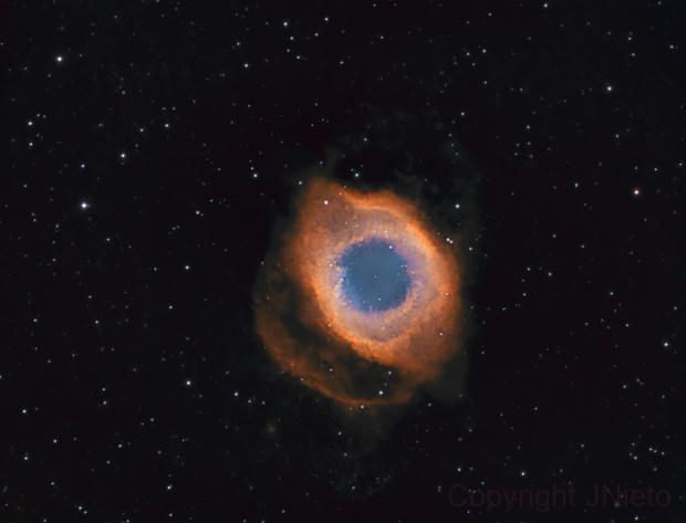 Helix Nebula, NGC 7293,                                JNieto