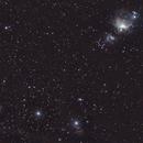 Orion belt and nebula - Untracked,                                João Pedro Gesser