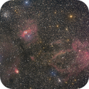 Lobster Claw and Bubble Nebula,                                Ruben Barbosa
