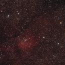 NGC6820-NGC6823 Nebulosa ad emissione ed ammasso aperto nella Volpetta,                                Giorgio Viavattene