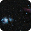 M45 - Orion + Flame & Horsehead,                                gbouquet