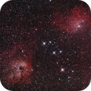 IC405 and IC 410,                                Jim Knapp