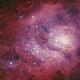 Bok globule, Protostellar dark clouds, stars formation, Herbig-Haro 877, alls in the Lagoon nebula,                                Gianni Cerrato
