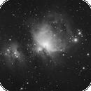 M42/M43/NGC 1977 (60x60s + 100x4s) HDR combine,                                turfpit