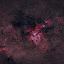NGC 3372 / Carinae Nebula surrounding Eta Carinae,                                Björn Gludau