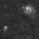 ASI1600 First Light - Trifid & Lagoon Nebula,                                Johannes Schiehsl