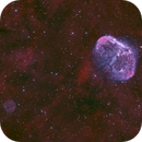 NGC6888 + SOAP BUBBLE - HOO + RGB STAR,                                Martin Dufour