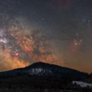 Milky Way 21/03/2021,                                Łukasz Żak