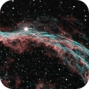 Western Veil: bicolour Ha and OIII,                                keving