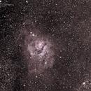 Messier 8, The Lagoon Nebula,                                John O'Neal, NC Stargazer