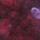 Ngc 6888- nébuleuse du croissant et bulle de savon HOO,                                astromat89