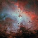 Where Heaven meets Hell (M16),                                jlangston_astro