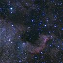 North America and Pelican Nebula,                                Nils Langner