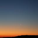 Waning Crescent Moon & Venus,                                G400