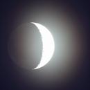 Der Mond  - Auch beleuchtet von der Erde,                                Horst Twele