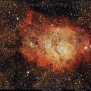 NGC 6523 / M8:Lagoon Nebula,                                Alexis Tibaldi
