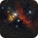 IC 434, NGC 2024, Star Aniltak,                                Alain L'ECOLIER