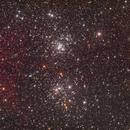 NGC 869 The Double Cluster,                                David Wills (Pixe...