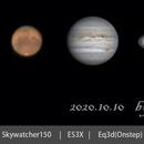 Jupiter & Saturn & Mars Collective,                                HoldGone