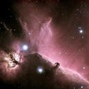 Horsehead nebula in Narrowband,                                Mike