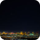 2020 Great Conjunction of Jupiter and Saturn over the Las Vegas Strip,                                Patrick Hsieh