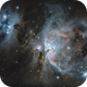 The Orion Nebula (M42) and Running Man Nebula,                                Antoine Grelin