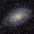 M 33 - Triangulum Galaxy,                                starfield