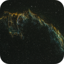 NGC6995 Eastern Veil HST - Test of Antlia 3.5nm Filters,                                Kevin Jackson