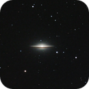 M104 - The Sombrero Galaxy (Cropped),                                Trevor Nicholls
