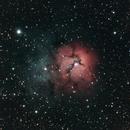 M20 - Nebulosa Trífida (Trifid Nebula),                                Alfredo Beltrán