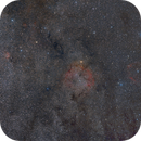IC1396 widefield,                                Bart Delsaert