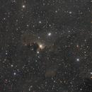 vdB 141, Sh2-136 - Ghost Nebula in Cepheus - LRGB,                                Roberto Botero