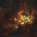 NGC6357 - The Scorpion in Scorpius (SHO),                                Andrew Klinger