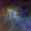 The Lion Nebula Hubble Palette (LBN 471),                                Eric Coles (coles44)