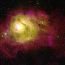 M8 Lagoon Nebula,                                Stephen Charnock