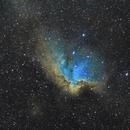 NGC7380 en SHO,                                Xaxas