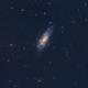 NGC 4559 (Caldwell 36),                                Kathy Walker