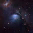 Messier 78 - Reflection Nebula in Orion,                                Salvatore Grasso