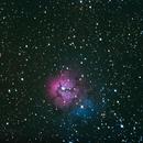 Trifid Nebula 600 second exposure,                                AcmeAstro