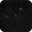 Widefield around NGC 7635 Cassiopea/Cefeo,                                Michele Russo