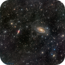 Bode's Nebulae (Messier 81 & 82) with IFN,                                  Miles Zhou